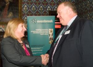 Adrian Thomas, Network Rail and Jane Hatton, Evenbreak